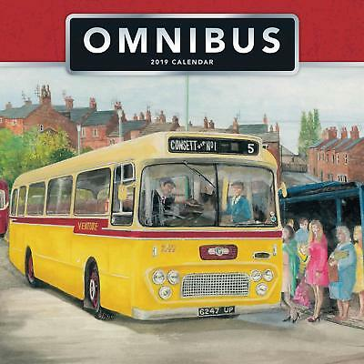 Calendar 2019 OMNIBUS - Vintage Style Christmas Gift Present One Month To View
