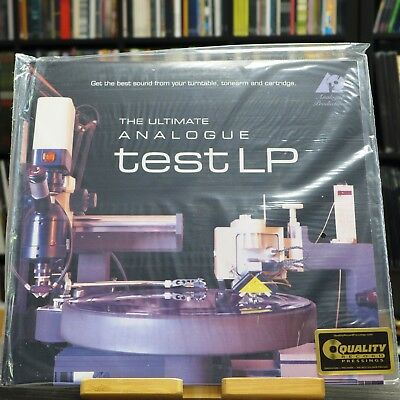 Analogue Productions - The Ultimate Analogue Test LP / LP (AAPT 1) US
