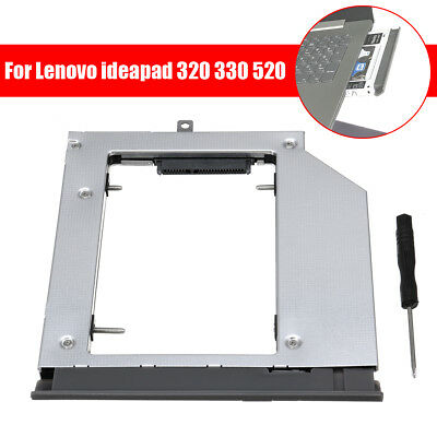 2nd SATA Notebook Drive Bay Drive SSD Caddy Part For Lenovo ideapad 320 330 520