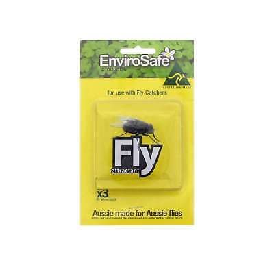 Fly Bait Refill Pack of 3 For Use With Fly Catchers Australian Made Envirosafe