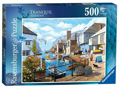Tranquil Harbour 500pc Jigsaw Puzzle [Puzzle]