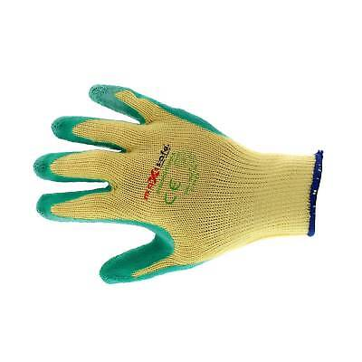Green Grippa Gloves XL Pair Latex Ergonomic Polyester Cotton Durable Tough