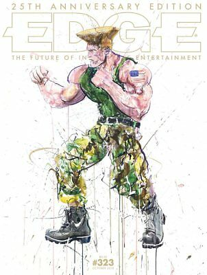 EDGE Magazine #323 October 2018 (25th Anniversary LE - Master Chief and Guile)