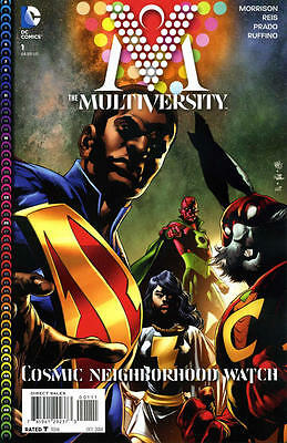 MULTIVERSITY by Grant MORRISON COMPLETE SERIES & Guidebook NM