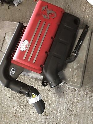 Fiat 500 Abarth 1.4t Air Filter Box Engine Cover Bmc Genuine With Filter