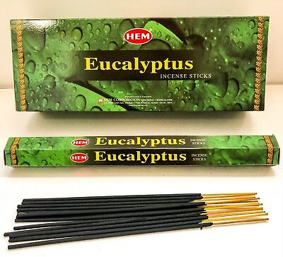 Eucalyptus Incense Sticks by Hem - Healing Purification Pick 20-40-60-80-100-120