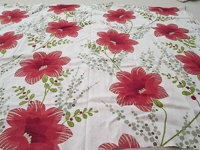 Harlequin Fabric Pattern Constance 1 Yd x 54 In Linen Floral Delphine Collection