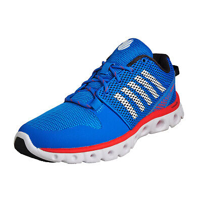K Swiss X Lite Homme Chaussures Course Fitness Gym Baskets Bleues
