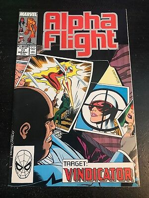 Alpha Flight#77 Incredible Condition 9.0(1989) Kingpin App!!