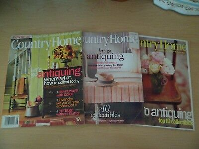 Vintage Country Home Magazine Lot of 3 July/August 1998 August 2001 Aug. 2004 #3