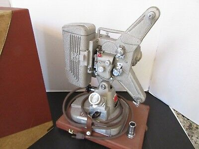 Vtg Keystone Movie Projector 8Mm Model 109D As Is Not Tested-W/case Looks Good