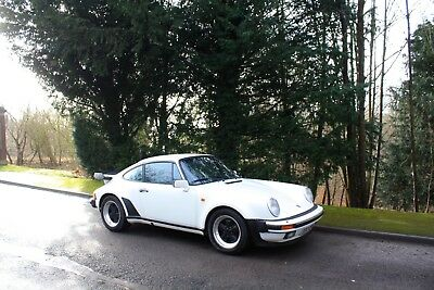 Porsche 911 Turbo 3.3 (930), Model Year - 1987.  Stunning in Grand Prix White.