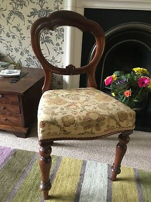 Victorian Ballon Back Chair