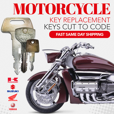 SUZUKI MOTORCYCLE KEYS-CUT by Code Replacement key pre-cut