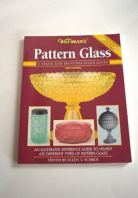 Book, Warman's Pattern Glass, 2nd Edition, Paperback, Collector's Guide