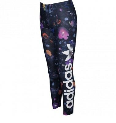 Adidas Originals Trefoil Girls Floral Leggings