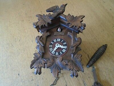 Vintage Cuck00 Clock - Spares Or Repair - Made In Germany