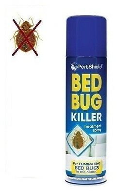 Pest Control Bed Bug Control Killer Spray Linen Treatment Home Bed 200Ml New