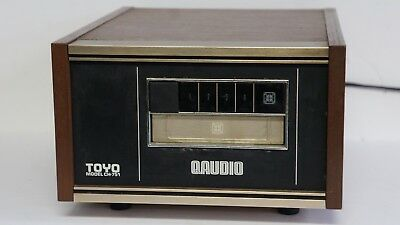 VINTAGE TOYO CH-751 4 Channel Q AUDIO 8 TRACK PLAYER