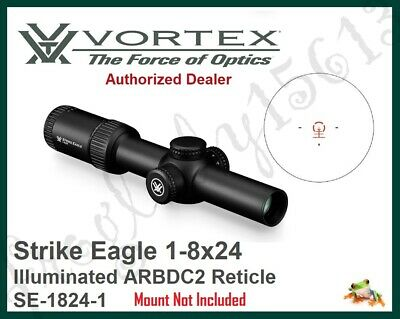 VORTEX Strike Eagle 1-8x24 Illuminated ARBDC2 Reticle Riflescope SE-1824-1