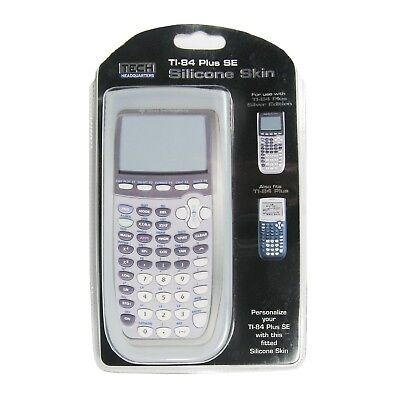 TI-84 Plus SE and TI-84 Plus Gray Silicone Skin Only Protect your Calculator