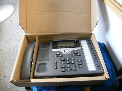 New in Box Cisco CP-7861-K9 UC Phone 7861 16 Line Business Phone