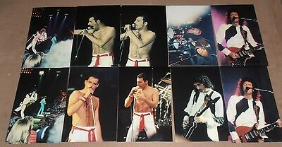 QUEEN FREDDIE MERCURY  10  original   photos  4X6     1982 NYC    #1