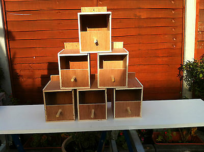 6 finch nest boxes inc free postage