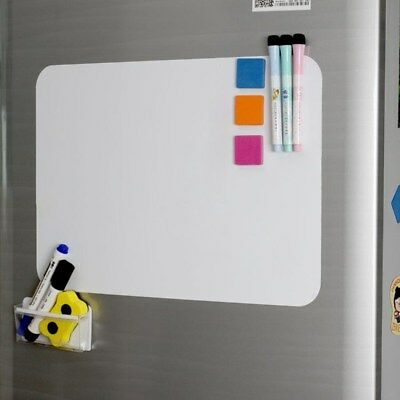 A3/A4 Reminder Fridge Magnetic Whiteboard Family Message Board Office Memo NEW