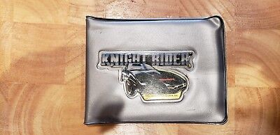Very Rare!!  Vintage Knight Rider TV Show Silver Wallet in excellent condition.