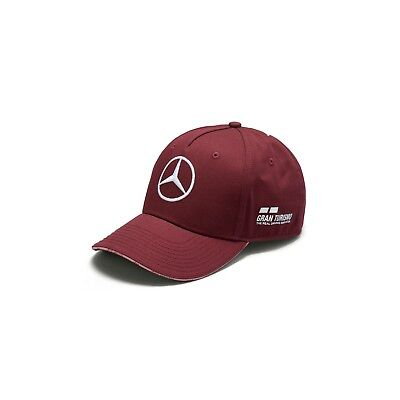 Mercedes Benz F1 Special Edition Lewis Hamilton 2018 Singapore Wine Red Hat