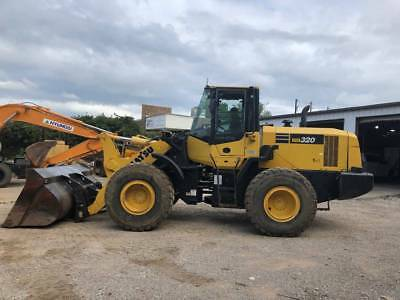 2013 Komatsu WA320-7 Wheel Loader; VERY NICE; Q/C w/bucket and forks; 5016 HRS