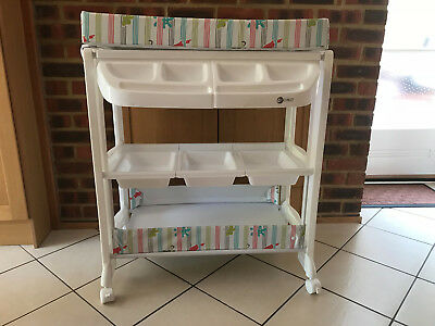 My Child Peachy Changing Unit With Concealed Bath And Storage