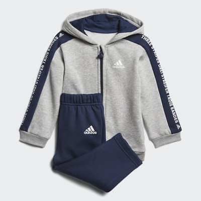 Adidas Originals Infant YWF Crew Full Tracksuit Kids Children Full Set AY8561