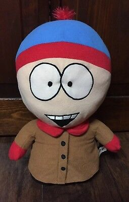 "2008 South Park Stan Collectible 13"" Tall Stuffed Cloth Character EUC"