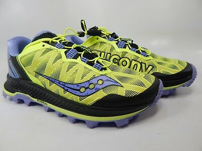 official photos 2ec9a 90353 Saucony Koa ST Size 8 M (B) EU 39 Women s Trail Running Shoes Citron