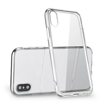 "Clear Thin TPU Case For iPhone XS Max 6.5"" Transparent Gel iPhone 10S Max Cover"