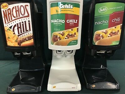 Gehl's Nacho Cheese And Chili Dispenser Hot Top 2 Ht2-01 Dual