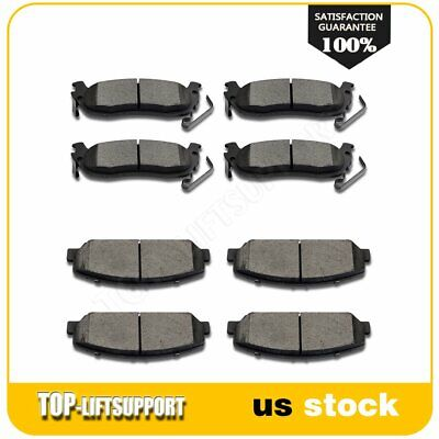 Front and Rear Brake Ceramic Pads 8pcs For 2008 2009 2010 Titan Low Dust