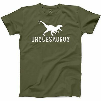 t-shirt uncle nephew niece baby announcement family matching 5618 unclesaurus