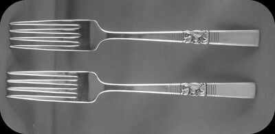"""2 Community Morning Star 7 1/8"""" Luncheon Forks TWO (2 sets of two avail)"""