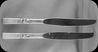 2 Community Morning Star Dinner Knives TWO (two sets of two available)