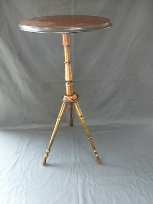 Antique Vintage Victorian Mahogany Tripod Table