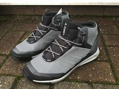 ADIDAS TERREX TIVID Grey MID Climaproof Outdoor Shoes Hiking