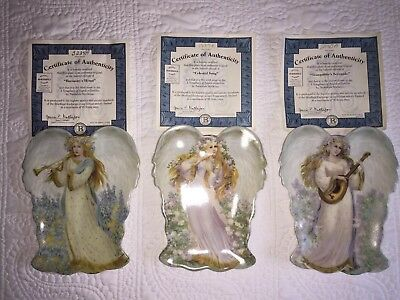 The Bradford Exchange A Symphony Of Angels Collection Plates - Choose 1 From 3