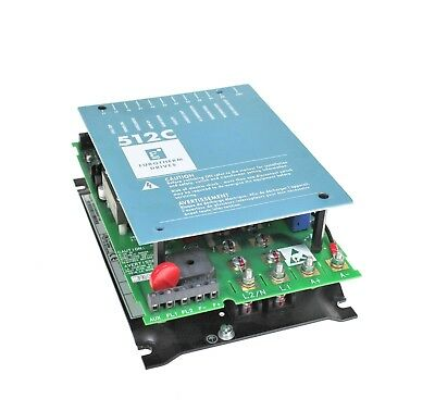 Parker SSD Eurotherm Drives 512C-08-00-00-00 Single Axis DC Drive 8A 0.6-1.8HP