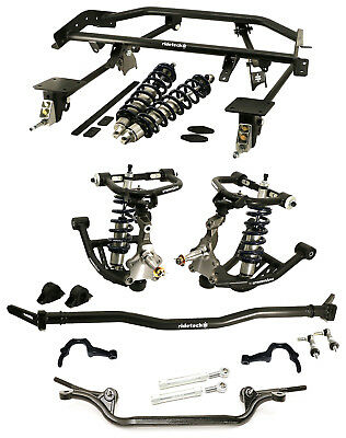 Ridetech Coilover System With Truturn Steering,arms,4-Link,sway Bar,67-69 F-Body