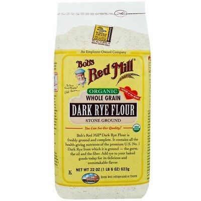 Bob's Red Mill Organic Dark Rye Flour 22 oz (623 g)