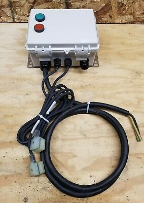 Enclosed motor Starter 2 button 230 volt