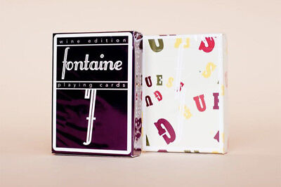 Wine Edition Fontaine Playing Cards - SOLD OUT!